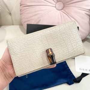NEW🔥Gucci Bamboo Wallet